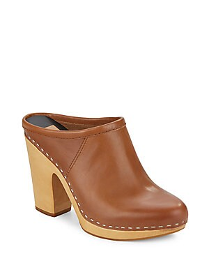 dolce vita female  ackley leather clogs