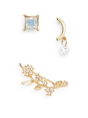 Three-Piece Earring Set