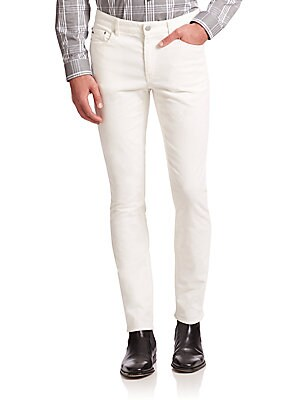 michael kors male slimfit corduroy pants