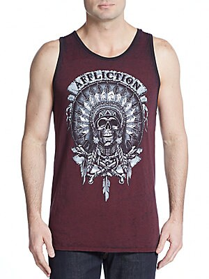 Wild Buffalo Graphic Tank