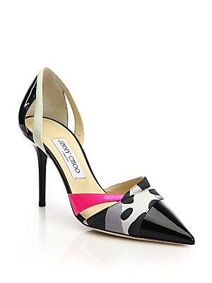 Marcine Point Toe D'Orsay Pumps