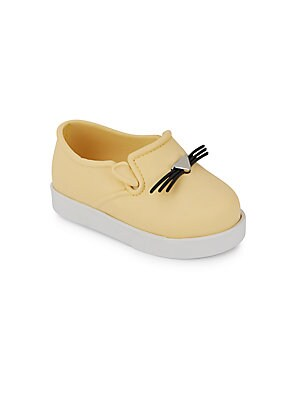 Baby's It Slip-On Cat-Face Sneakers
