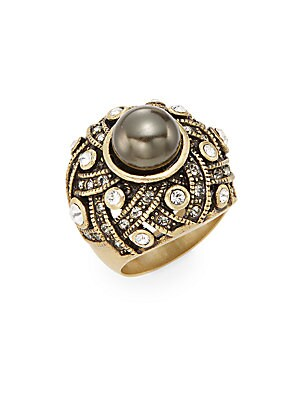 Enticing Drama Swarovski Crystal Ring