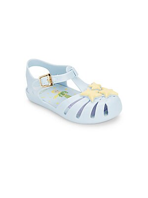 Girl's Aranha Star-Detailed Jelly Sandals