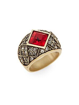 Tailored Brilliance Swarovski Crystal Ring