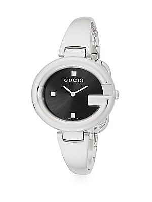 Stainless Steel G Bangle Watch
