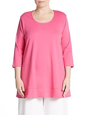 Cotton Trapeze Tunic