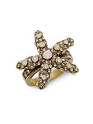Crystal Sea Star Ring