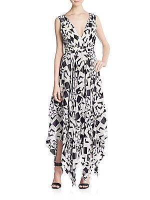 Esmay Printed Maxi Dress