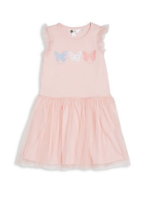 Toddler's Butterfly Tulle Dress