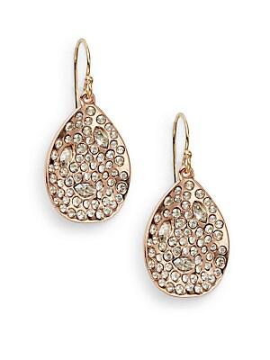 Miss Havisham Crystal Teardrop Earrings