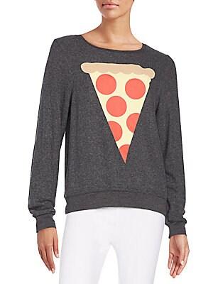 Hot Slice Graphic Sweatshirt