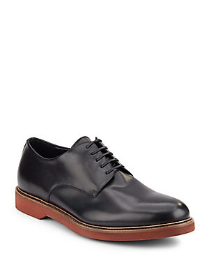 Metropole Leather Derby Shoes