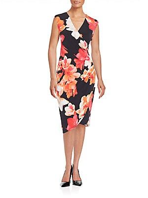 Floral Print Tulip Dress
