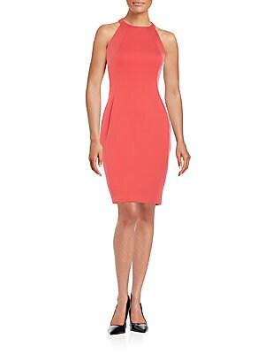 Cutout Sheath Dress
