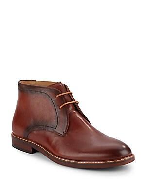 Beckon Leather Chukka Boots