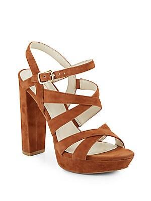 Morgan Suede Platform Sandals