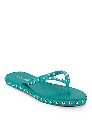 Kate Studded Flip Flop Sandals