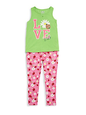 Girl's Love Me Sleep Set