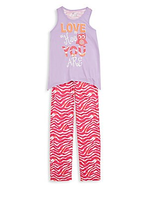Girl's Tank & Pants Sleep Set