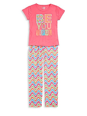 Girl's Two-Piece Pajama Set