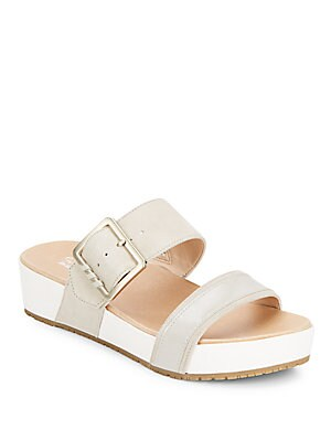 Frill Slide Sandals