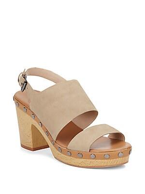Colette Suede Platform Sandals