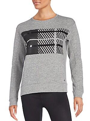 Plaid Graphic Sweatshirt