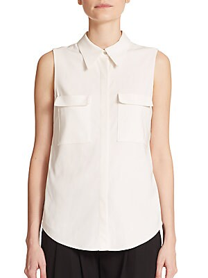 Benjamin Cutout Sleeveless Top