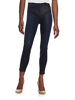 Coated Super Skinny Jeans