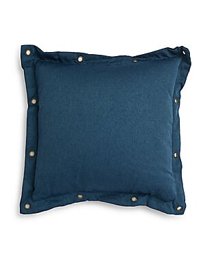 Ethan Grommet-Accented Throw Pillow