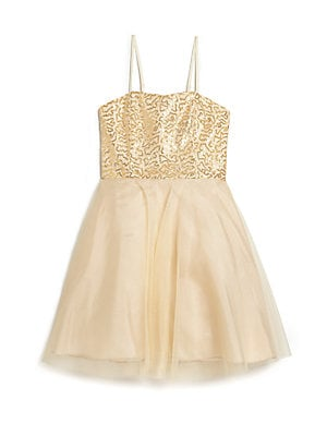 Girl's Sequin Dress
