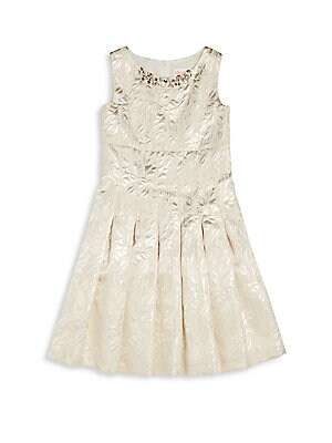 Girl's Roundneck Dress
