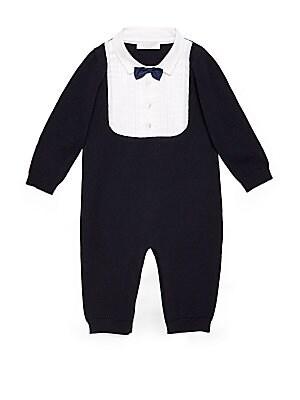 Baby's Wool Tuxedo Coverall