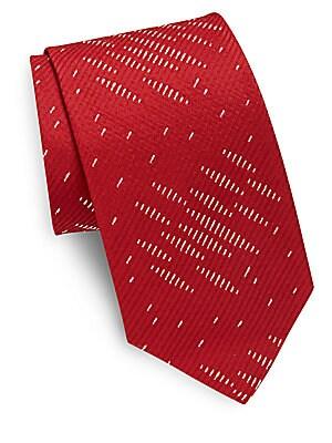 Cotton-Blend Tie