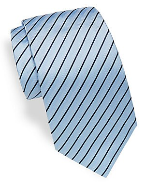 Italian-Silk Striped Tie