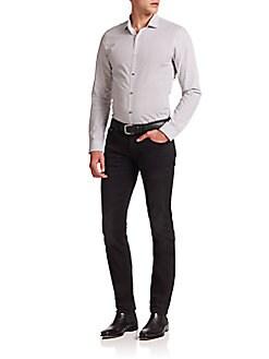 Paisley Slim-Fit Shirt