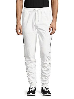 Side-Zip Jogger Pants