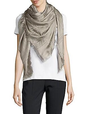 Silk Wool Blend Scarf