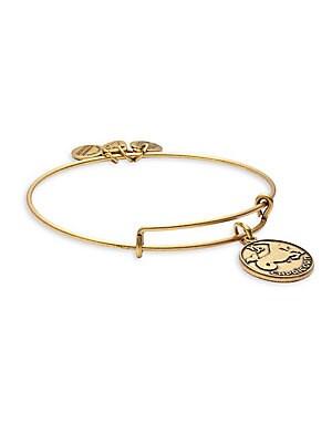 Capricorn Charm Bangle Bracelet