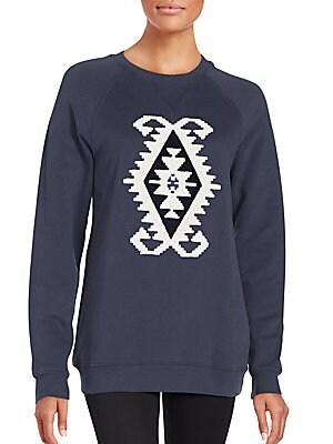 Graphic Front Sweatshirt
