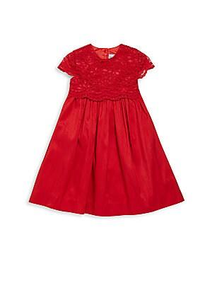 Baby Girl's Cap Sleeve Dress