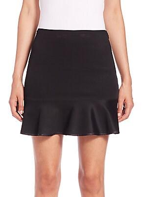 Brianna Ruffled Mini Skirt