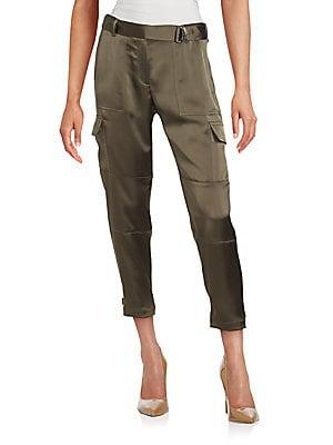 Cargo Pocket Chino Pants