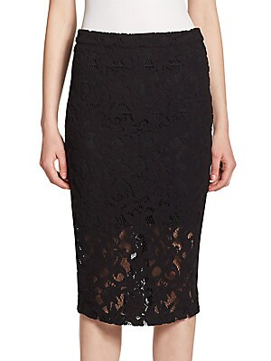 Sandia Floral Lace Skirt