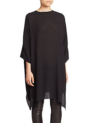 Asymmetry Fluid Crepe Top