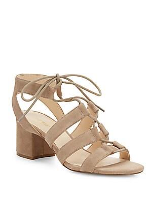 Gazania Lace-Up Sandals