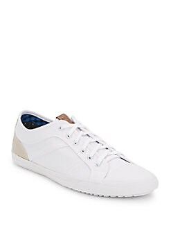 Mason Lace-Up Canvas Sneakers