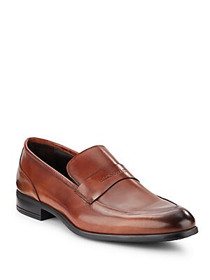 Maize Leather Loafers