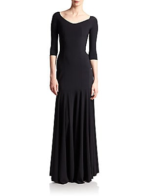 Estelle Long Off-The-Shoulder Gown